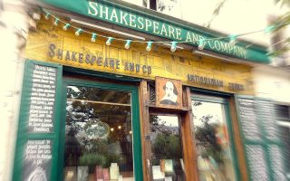 shakespeare and co storefront
